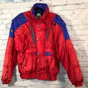 EUC 1980s Vintage Descente Retro Men's Ski Jacket